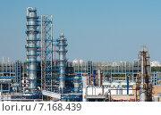 Купить «Московский нефтеперерабатывающий завод в Капотне, Россия», фото № 7168439, снято 14 июля 2014 г. (c) Юрий Губин / Фотобанк Лори