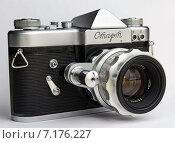 Зеркальная камера (СССР, 1962 год) (2015 год). Редакционное фото, фотограф Михаил Иванцов / Фотобанк Лори