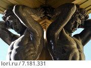 Купить «Атланты Эрмитажа. Санкт-Петербург», эксклюзивное фото № 7181331, снято 22 марта 2015 г. (c) Александр Алексеев / Фотобанк Лори