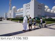 Мечеть в Абу-Даби (2013 год). Редакционное фото, фотограф Шайкина Наталья / Фотобанк Лори