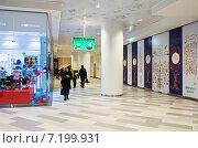 Купить «Интерьер коридора Центрального детского магазина (Детского Мира)», эксклюзивное фото № 7199931, снято 31 марта 2015 г. (c) Константин Косов / Фотобанк Лори