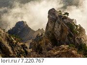 В вершинах Демерджи. Стоковое фото, фотограф Фёдор Ветров / Фотобанк Лори