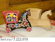 Купить «Городецкая роспись», фото № 7222019, снято 21 августа 2011 г. (c) hommik / Фотобанк Лори