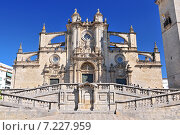 The Cathedral of San Salvador in Jerez de la Frontera, Andalusia Spain. Стоковое фото, агентство BE&W Photo / Фотобанк Лори
