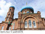 Купить «Покровский кафедральный собор г. Барнаул», фото № 7229879, снято 18 августа 2013 г. (c) Александр Литовченко / Фотобанк Лори