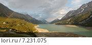 Купить «Радуга над горным озером, Италия», фото № 7231075, снято 2 июля 2013 г. (c) Сергей Драцкий / Фотобанк Лори