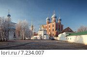 Купить «Рязанский Кремль XII века, Рязань, Россия», фото № 7234007, снято 27 ноября 2014 г. (c) Дмитрий Кутлаев / Фотобанк Лори