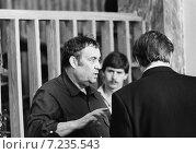 """Купить «Москва. 1982 год. На съемках фильма """"Вокзал для двоих"""". Режиссер Эльдар Рязанов», фото № 7235543, снято 22 июня 1982 г. (c) Александр С. Курбатов / Фотобанк Лори"""