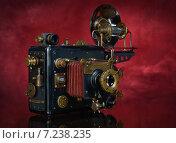 Фотоаппарат в стиле стимпанк. Стоковое фото, фотограф Валерий Александрович / Фотобанк Лори