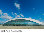 """Сочи, Олимпийский парк, ледовый дворец """"Большой"""" (2014 год). Редакционное фото, фотограф Руслан Нунаев / Фотобанк Лори"""