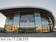 Железнодорожный вокзал Адлер (2014 год). Редакционное фото, фотограф Руслан Нунаев / Фотобанк Лори