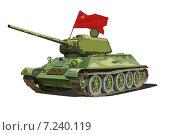 Купить «Т-34, Танк победы», иллюстрация № 7240119 (c) Веснинов Янис / Фотобанк Лори