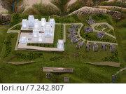 """Макет туристической базы """"Ведучи"""", Чечня (2014 год). Редакционное фото, фотограф Руслан Нунаев / Фотобанк Лори"""