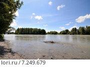 Купить «Вид на реку Катунь», фото № 7249679, снято 3 августа 2014 г. (c) Александр Карпенко / Фотобанк Лори