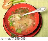 Купить «Суп», эксклюзивное фото № 7259083, снято 15 апреля 2015 г. (c) Яна Королёва / Фотобанк Лори