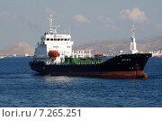 Купить «Грузовой корабль-Афины», фото № 7265251, снято 2 августа 2013 г. (c) Александр Гончаров / Фотобанк Лори