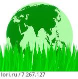 Nature Global Indicates Rural Globally And Natural. Стоковая иллюстрация, иллюстратор Stuart Miles / Фотобанк Лори