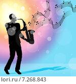 Купить «Саксофонист играет на саксофоне», иллюстрация № 7268843 (c) Stuart Miles / Фотобанк Лори