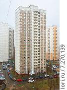 Купить «Непогода в Митино, Москва», фото № 7270139, снято 16 апреля 2015 г. (c) Валерия Попова / Фотобанк Лори