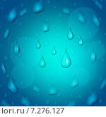 Rain Drop Shows Downpour Rains And Raindrop. Стоковая иллюстрация, иллюстратор Stuart Miles / Фотобанк Лори
