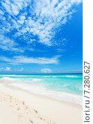 Купить «Прекрасные пляжи Канкуна, Мексика», фото № 7280627, снято 4 февраля 2014 г. (c) Сергей Новиков / Фотобанк Лори