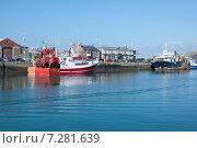 Купить «Рыбацкий Порт Хоут в Дублине Ирландия», фото № 7281639, снято 21 сентября 2014 г. (c) Татьяна Кахилл / Фотобанк Лори