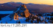 Купить «В горах Урала», фото № 7285291, снято 2 марта 2015 г. (c) Рамиль Юсупов / Фотобанк Лори