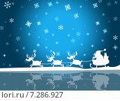 Xmas Santa Indicates Father Christmas And Frost. Стоковая иллюстрация, иллюстратор Stuart Miles / Фотобанк Лори