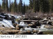 Купить «Весна в Западных Саянах. Река Стоктыш.», фото № 7287931, снято 18 апреля 2015 г. (c) Виталий Матонин / Фотобанк Лори