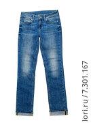 Купить «Синие джинсы», фото № 7301167, снято 27 февраля 2015 г. (c) Руслан Кудрин / Фотобанк Лори
