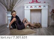 Купить «Элегантная женщина», фото № 7301631, снято 1 ноября 2014 г. (c) Наталья Степченкова / Фотобанк Лори