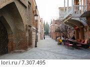Купить «Уютная улочка Шавтели в старом Тбилиси», фото № 7307495, снято 26 февраля 2015 г. (c) Юлия Батурина / Фотобанк Лори