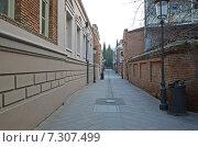 Купить «Уютная улочка Шавтели в старом Тбилиси», фото № 7307499, снято 26 февраля 2015 г. (c) Юлия Батурина / Фотобанк Лори
