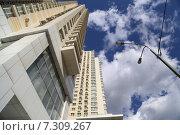 Современные жилые высотки Москвы (2015 год). Стоковое фото, фотограф demon15 / Фотобанк Лори