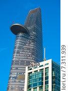 Купить «Финансовая башня компании Битекско. Сайгон. Bitexco Financial Tower, Saigon», фото № 7311939, снято 15 января 2015 г. (c) Александр Подшивалов / Фотобанк Лори
