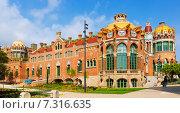 Купить «Hospital de la Santa Creu i Sant Pau in Barcelona», фото № 7316635, снято 13 сентября 2014 г. (c) Яков Филимонов / Фотобанк Лори