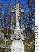 Купить «Старинное Лютеранское кладбище», фото № 7321031, снято 25 апреля 2015 г. (c) Sashenkov89 / Фотобанк Лори
