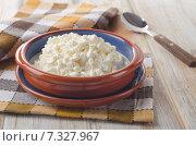 Купить «Fresh Cottage cheese», фото № 7327967, снято 19 марта 2015 г. (c) Tatjana Baibakova / Фотобанк Лори