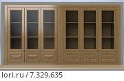 Дизайн-проект шкаф 3D визуализация. Стоковая иллюстрация, иллюстратор Дарья Лазарчук / Фотобанк Лори