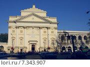 Купить «Poland, Warsaw, St Anne's Church», фото № 7343907, снято 22 августа 2019 г. (c) BE&W Photo / Фотобанк Лори