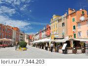 Croatia, Istria, Rovinj, Rovinj old town. Стоковое фото, агентство BE&W Photo / Фотобанк Лори