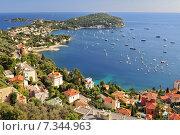Купить «The famous perched village of Saint-Jean-Cap-Ferrat. Europe, France, Alpes-Maritimes.», фото № 7344963, снято 24 июня 2019 г. (c) BE&W Photo / Фотобанк Лори