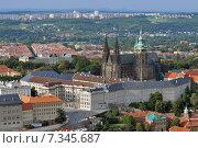 Stare Mesto (Old Town) view, Prague, Czech Republic. Стоковое фото, агентство BE&W Photo / Фотобанк Лори