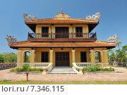 Vietnam, Hue, The Purple Forbidden City, Imperial City, Hue, Vietnam. Стоковое фото, агентство BE&W Photo / Фотобанк Лори