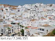 The white walled town of Vejer de La Frontera, Cadiz, Spain. Стоковое фото, агентство BE&W Photo / Фотобанк Лори