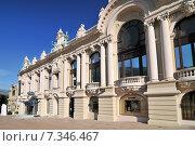 Купить «Monte Carlo Casino Monaco Principality French Riviera Mediterranean Cote d'Azur Alps», фото № 7346467, снято 18 июня 2019 г. (c) BE&W Photo / Фотобанк Лори
