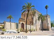 Alcazar, 11th Century, in the town of Jerez de la Frontera, Costa de la Luz, Province of Cadiz, Andalusia. Стоковое фото, агентство BE&W Photo / Фотобанк Лори