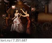 Купить «Золушка в стиле стимпанк», иллюстрация № 7351687 (c) Вера Тетерина / Фотобанк Лори