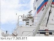 Корабельный мостик (2015 год). Стоковое фото, фотограф Михаил Серов / Фотобанк Лори