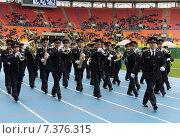 Купить «Полицейский духовой оркестр», фото № 7376315, снято 19 октября 2013 г. (c) Free Wind / Фотобанк Лори